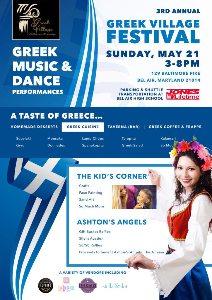 Join us for Harford County's only Greek Festival, Sunday, May 21st